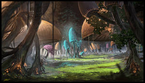 Mushroom Glade by Chris-Karbach