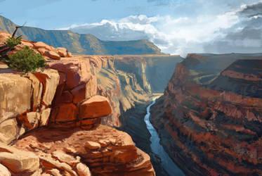 Roadtrippin #17 Grand Canyon by Chris-Karbach