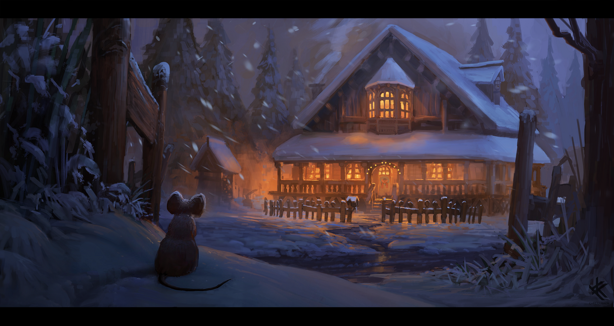 Muriels Mouse's winter shelter by Chris-Karbach