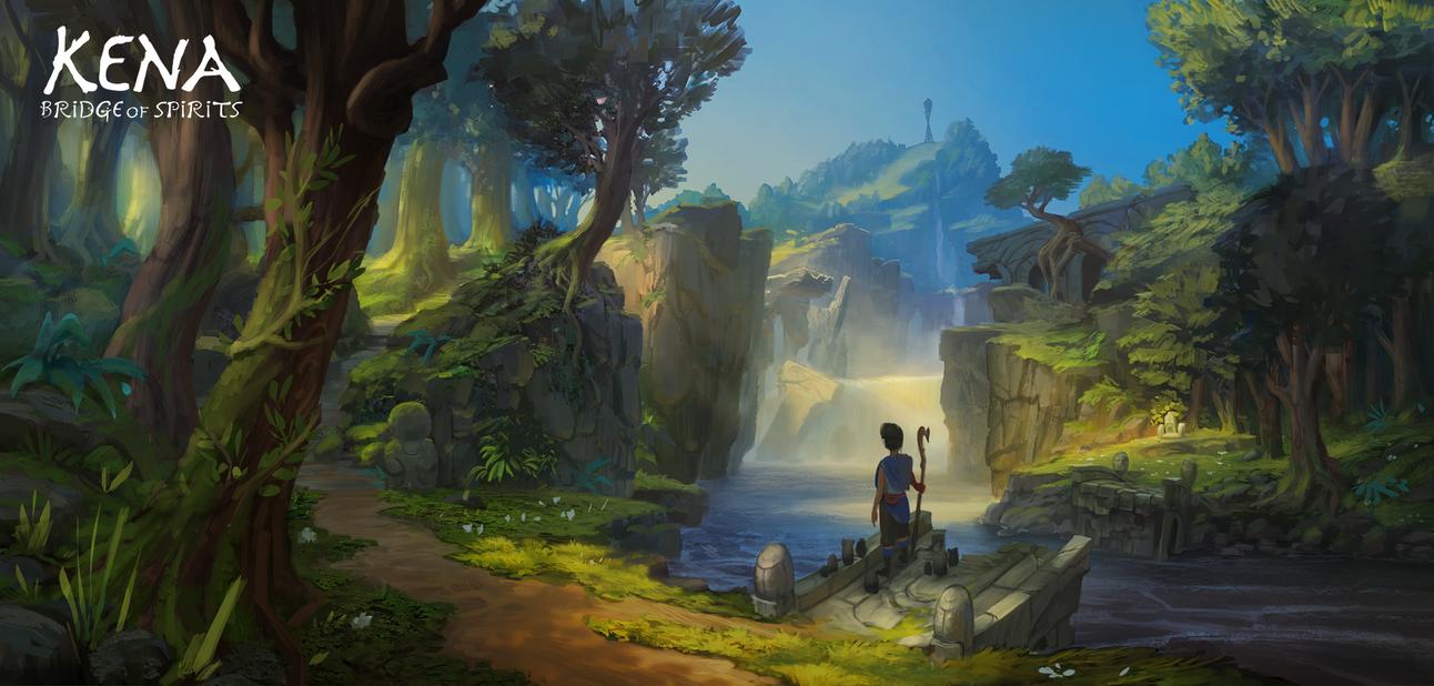 Kena: Bridge of Spirits - Environment Concept #1