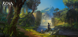 Kena: Bridge of Spirits - Environment Concept #1