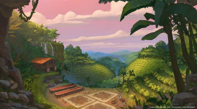 The Rubia Coffee Ride - Fields