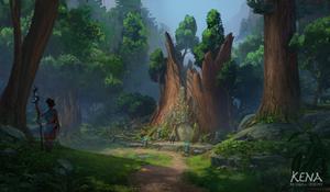 Kena - Ancient Tree Door