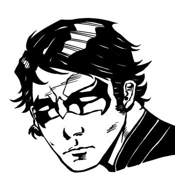 Sad Nightwing by Tallant