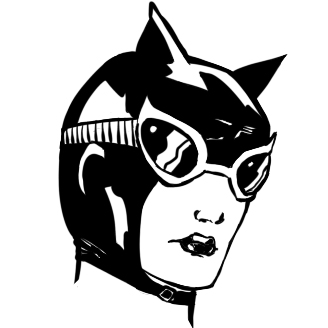 Sad Catwoman by Tallant