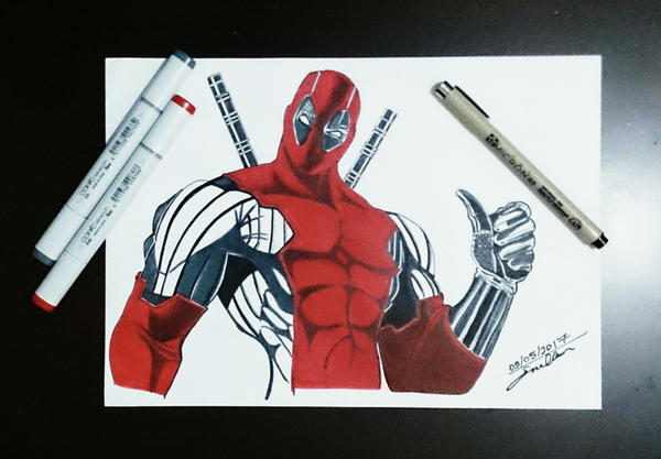 Deadpool by esraolkun