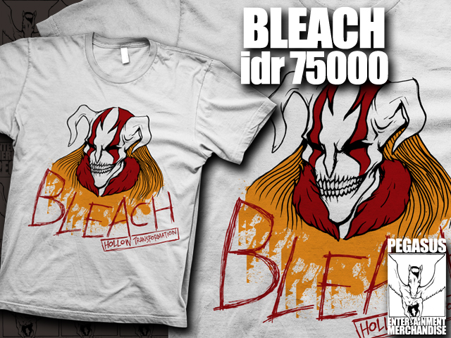 Bleach Shirt by edopunkrock