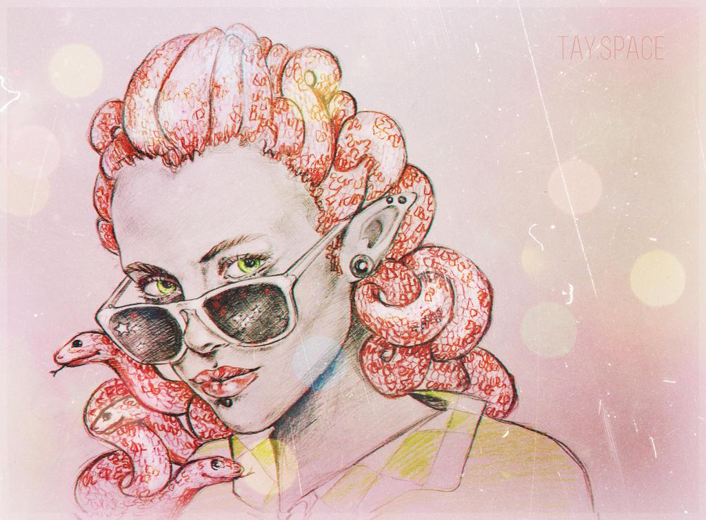 Medusa Gargon by CausaEssendi