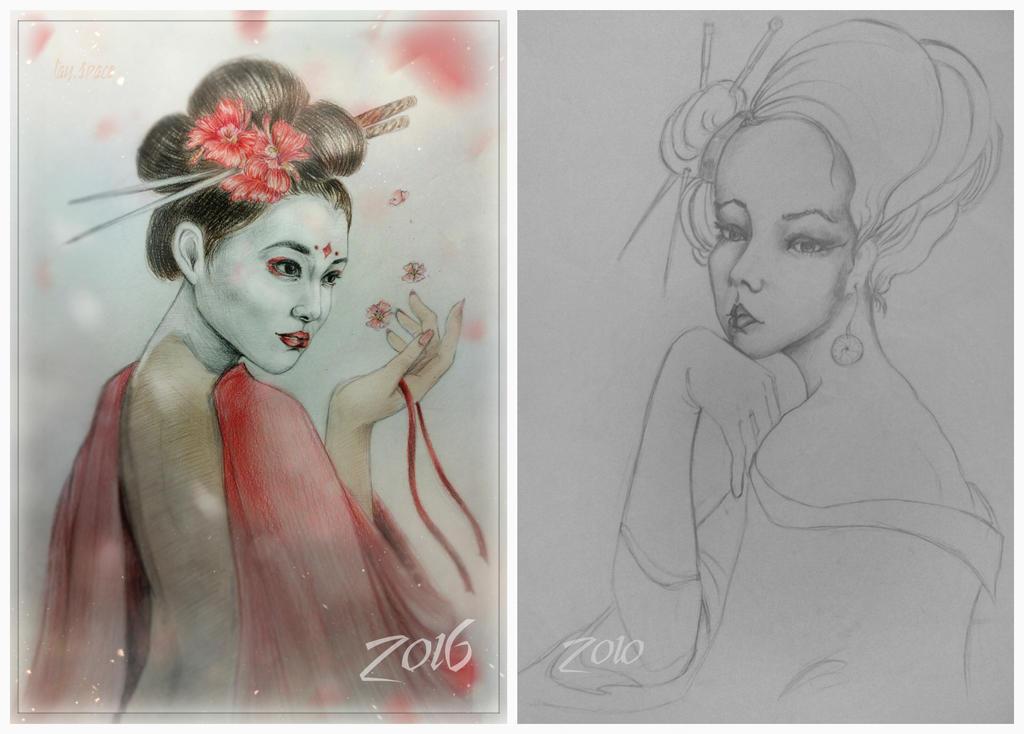 Geisha. by CausaEssendi
