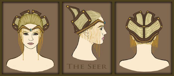 The Seer - Headpiece Design