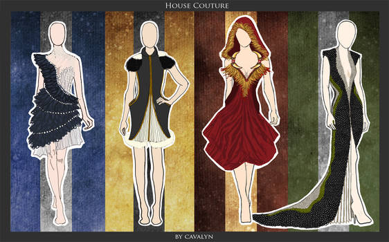 Hogwarts House Couture