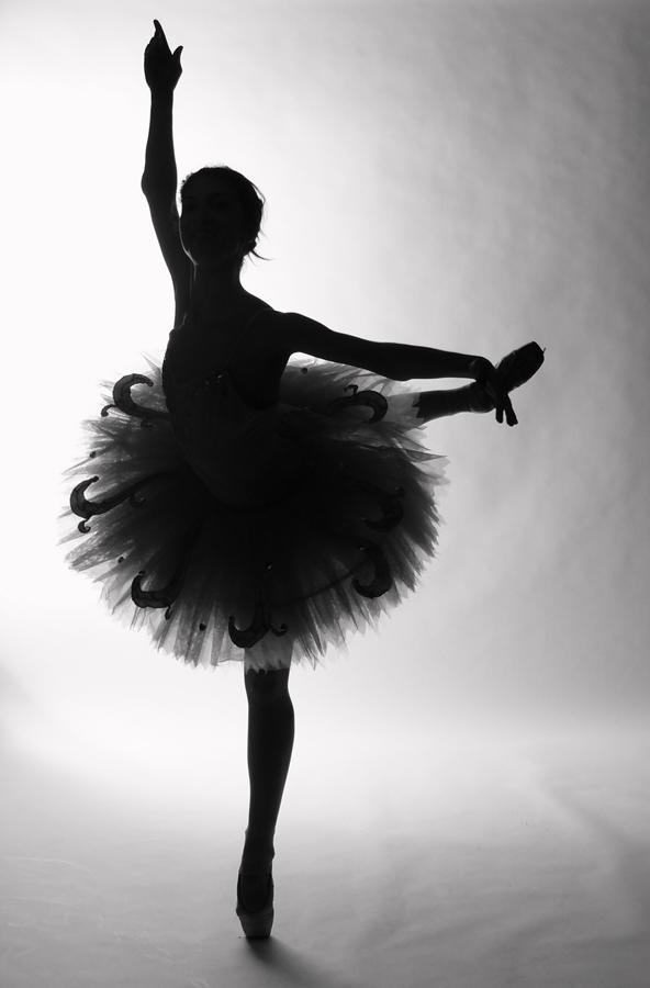 Ballerina.  People.