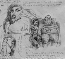 sketchArianefatboyWEB by SteampunkGorgon