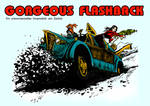 Frontcover for a Flash Gordon tribute rpg setting