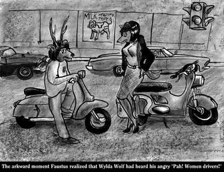 Faustus meets Wylda Wolf by SteampunkGorgon