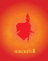 Suikoden II Minimalist Poster by Emina04Sakura