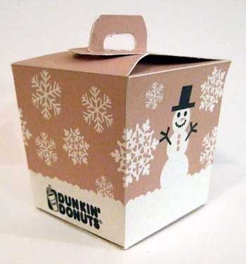 Dunkin Donuts Packaging