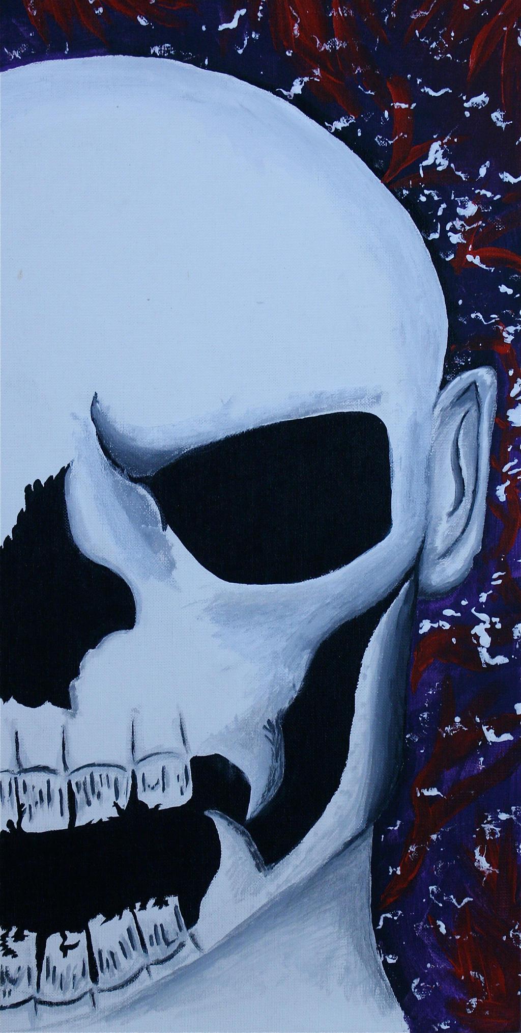 SkullFace by zoinkscameron