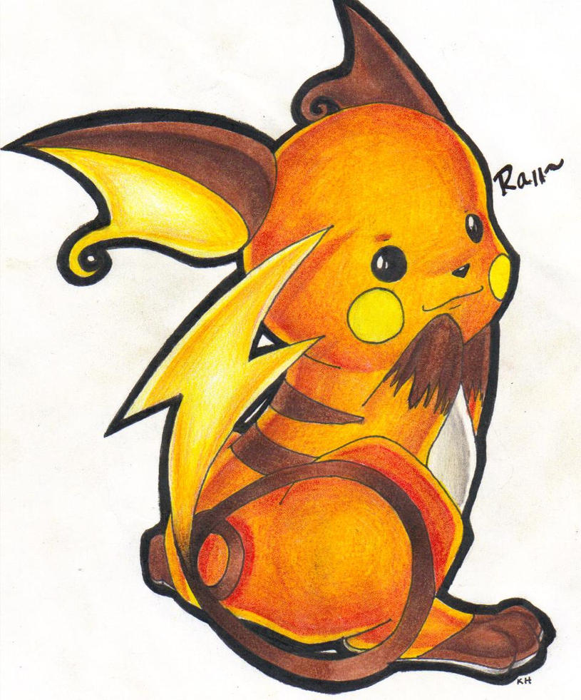 Raichu by Shoeafull on DeviantArt
