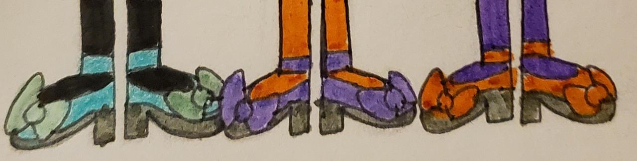 Disney character Tap dancing shoes