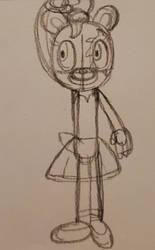 Ray in a tutu