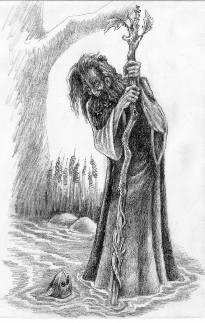 Male Druid by Manifold2