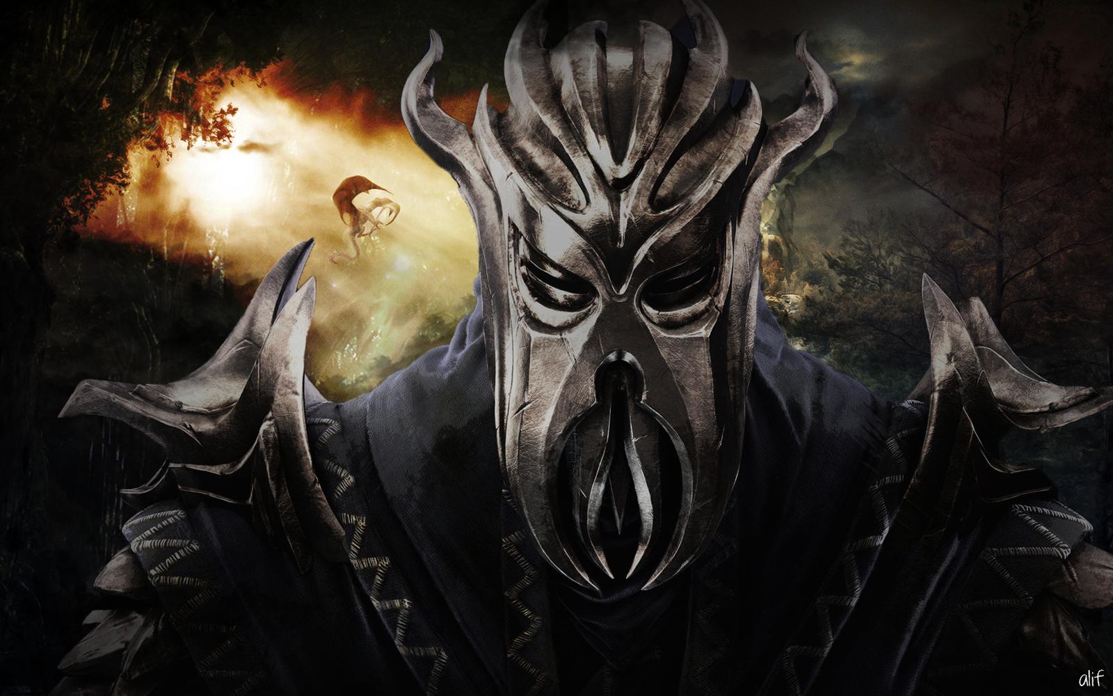 Skyrim Dragonborn Art by alif32