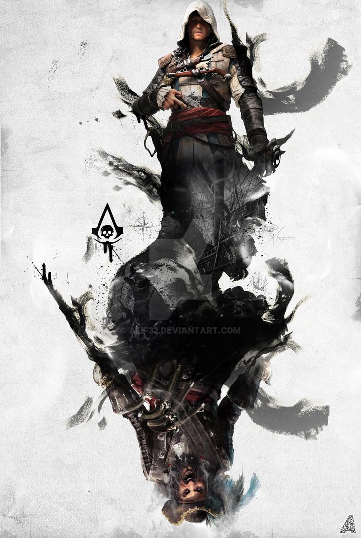 assassin 39 s creed poster artwork by alif32 on deviantart. Black Bedroom Furniture Sets. Home Design Ideas