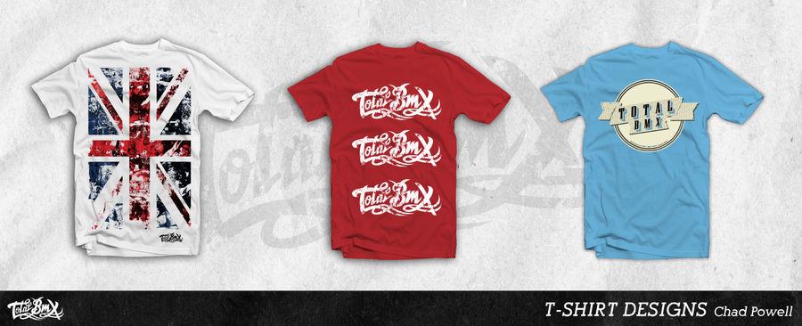 Total BMX T-Shirt Designs