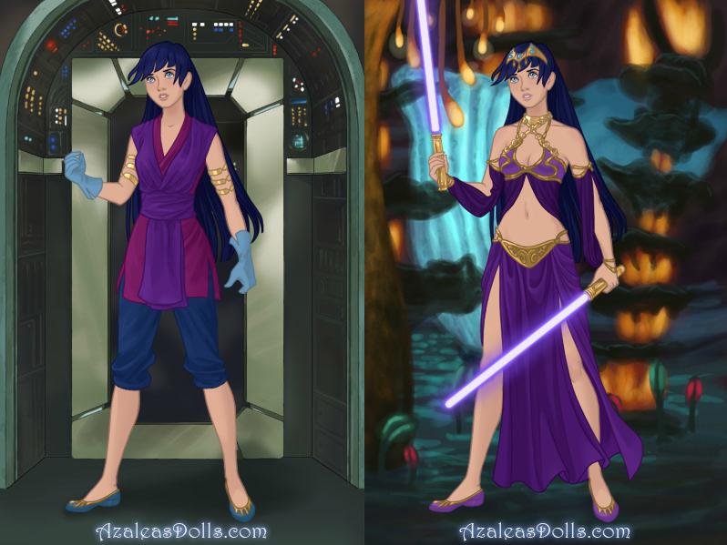 Rebel Jedi: Aria Bridger by ProjectANGEL101