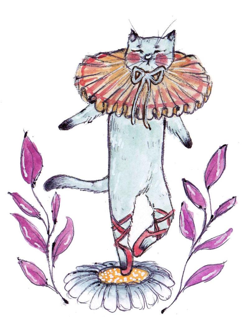 Ballet Cat by Busbi