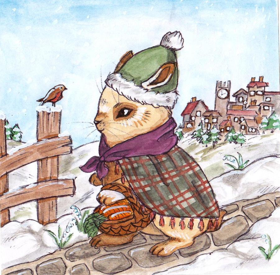 Wintery Walk by Busbi