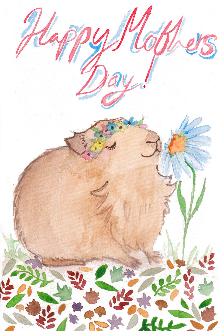 Mothers Day card by Busbi