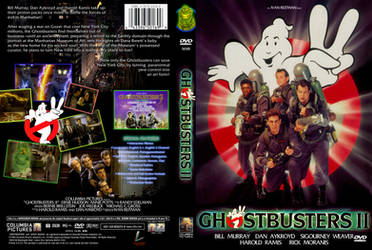 Ghostbusters II DVD Cover A by YoshioKun13