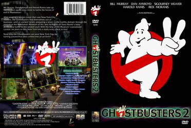 Ghostbusters II DVD Cover B by YoshioKun13
