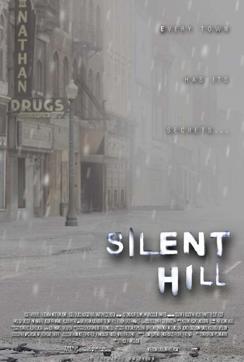 silent hill town art