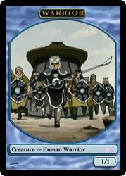 AtlA Magic-Set Warrior Token by DarkMoldo