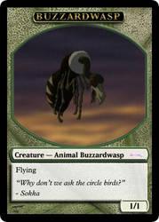 AtlA Magic-Set Buzzardwasp Token by DarkMoldo
