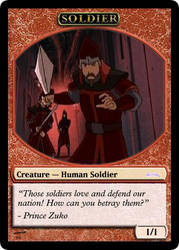 AtlA Magic-Set Soldier Token by DarkMoldo