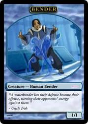 AtlA Magic-Set Blue Bender Token by DarkMoldo