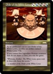 AtlA Magic-Set Order of the White Lotus by DarkMoldo