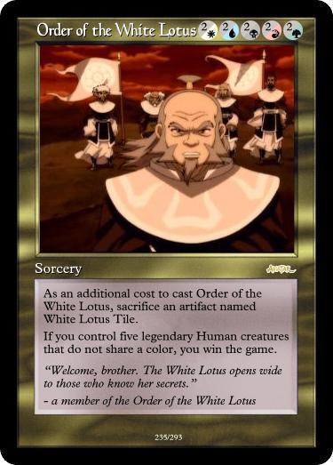 Atla Magic Set Order Of The White Lotus By Darkmoldo On Deviantart