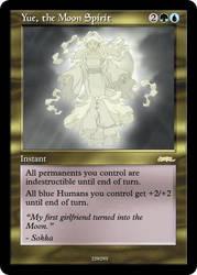 AtlA Magic-Set Yue the Moon Spirit by DarkMoldo