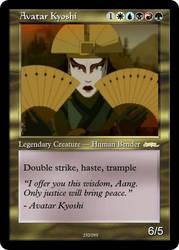 AtlA Magic-Set Avatar Kyoshi by DarkMoldo