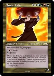 AtlA Magic-Set Avatar Roku by DarkMoldo