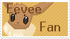 Eevee Fan Stamp by SilencedMorning
