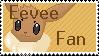 Eevee Fan Stamp by SilencedMorning