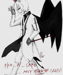 An Effin Card... Full Body Commission- Vald by UnknownShadow4ever