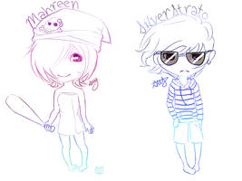 Mahreen And  SilverStrato by ItsJustLovely