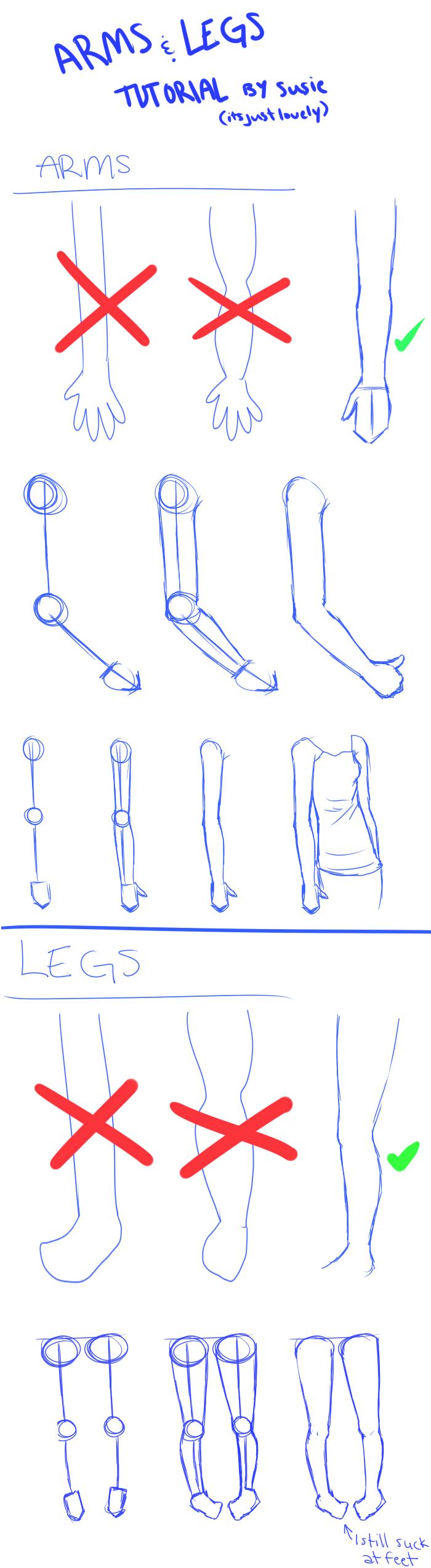 ARMS n' LEGS Tutorial by ItsJustLovely